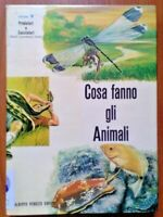 Cosa fanno gli animali - Vol. 9 Predatori e Cacciatori  Peruzzo Editore 1965