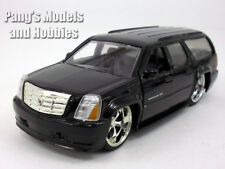 5.5 inch Cadillac Escalade ESV Custom Lowrider Scale Diecast Model - Black