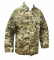MTP Camouflage BARRACK SHIRT - British Army Military - Button Airsoft NEW - C8