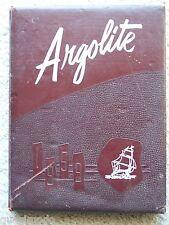1959 ARGO COMMUNITY HIGH SCHOOL YEAR BOOK, ARGO, ILLINOIS   ARGOLITE