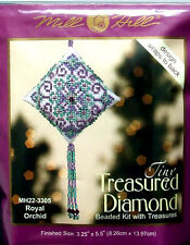 Mill Hill Cross Stitch Bead Kit Christmas Diamond 'Royal Orchid' 22-3305