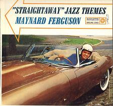 """MAYNARD FERGUSON """"STRAIGHTAWAY JAZZ THEMES"""" JAZZ 60'S LP POCHETTE AUTO !"""