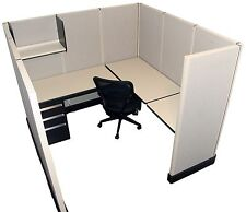 Herman Miller AO2 6'x6' Office Cubicles / Workstations Refurbished Furniture