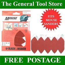 BLACK DECKER MOUSE carteggiatura AND dita assortiti gradi A2334 si adatta Mouse Sanders