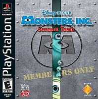Monsters, Inc.: Scream Team (Sony PlayStation 1, 2001) PS1 Game Disney Pixar