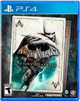 Batman: Return to Arkham for PlayStation 4 [New PS4]