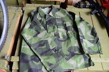 New Original Swedish Army M90 Jacket Splinter Camouflage