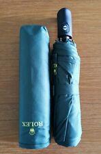 Brand New Dark Green Rolex Compact Folding Umbrella with sleeve