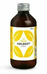 Charak Ayurvedic Haleezy Syrup 200ml for Helps support bronchial health