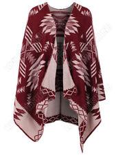 Poncho da donna in lana taglia S