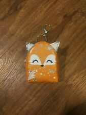 Tiny Fox Keychain Change Purse Coin Pouch