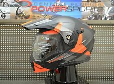 SCORPION EXO-AT950 Neocon Modular Motorcycle Helmet Bright Orange Size MEDIUM