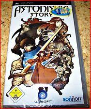 Sony PSP astonishia Story * RPG raras * Deutsche primera edición *