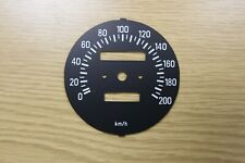 Yamaha RD 250 350 LC Clock Set Speedometer Dial KMH