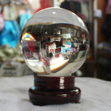 Crystal Clear Glass Ball 80/100/120/150mm Sphere Healing Photography Props Gifts