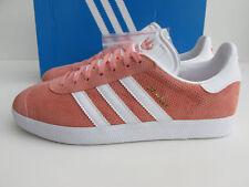separation shoes c7238 0a270 Nuova inserzione NUOVO CON SCATOLA Adidas Gazzella UK 11 SunGlow Rosa Bianco  Oro RRP £ 75 bb5493