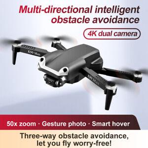 Drone X Pro WIFI FPV 4K HD Camera 3 Battery Foldable Selfie RC Quadcopter Drone!
