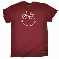 Bike Smile Smile Face T-SHIRT tee cycling jersey funny birthday gift present