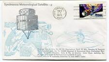 1975 Synchrounous Meteorological Satellite-2 Cape Canaveral Hemisphere Skylab US
