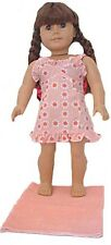 Peach Sundress and Towel Fits 18 inch American Girl Dolls