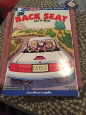 Travel Fun Activity Book 35 Back Seat Activies