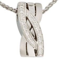 Natürliche Echtschmuck-Halsketten & -Anhänger mit Diamant-Schönheits