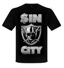 Sin City Las Vegas Raiders t-shirt sm-4x All Sizes