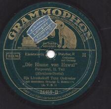 Leo Monosson  Orchester Ilja Livschakoff : Die Blume von Hawaii