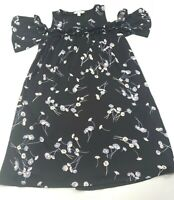 Womens Lauren Conrad Floral Knee Length Dress Size Small