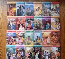 HARLEQUIN 1987 Lot of 24 Romantic Novels ROMANCE Series - Excellent Condition