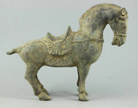 Collectible Decorated Chinese Handwork Bronze sculpture Horse statue