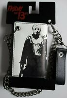 Friday The 13th Jason Voorhees Horror Movie Chain Wallet Nwt