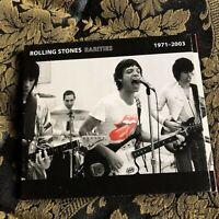 The ROLLING STONES cd RARITIES 1971 - 2003 rare gatefold EMI Virgin Records