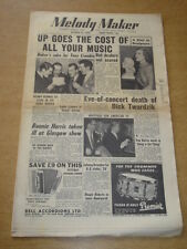 MELODY MAKER 1955 OCTOBER 29 TONY CROMBIE CHET BAKER JOAN REGAN EDDIE CALVERT +