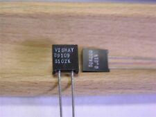 2 Vishay S102K 50K .6W .01% Bulk Metal Foil High Precision Resistors