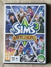 PC MAC DVD Game - The Sims 3: Ambitions Expansion w/ Serial Code