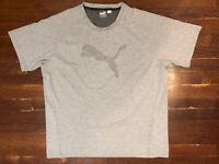 Puma Men's Size XL Gray Keeps You Dry T Shirt
