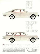 "1960 Chrysler Valiant vintage ad - ""Get the car that's got the goods!"""