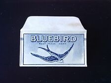 VINTAGE RAZOR BLADE & WRAPPER 'BLUEBIRD'