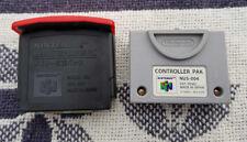 N64 Original Nintendo Expansion Pak NUS-007 Jumper Pack Upgrade + Memory Card