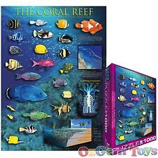 Coral Reef Eurographics Jigsaw Puzzle 1000 Pieces