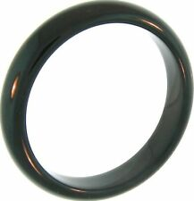 Natural Black Nephrite Jade Bangle Bracelet
