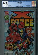 X-Force 47 CGC 9.8 Deadpool Siryn Adam Pollina art New Holder Wolverine