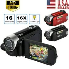 Camcorder Digital Video Camera 1080P HD TFT LCD 24MP 16x Zoom DV AV