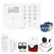 HOMSECUR 4G/GSM Security Alarm APP Control with IP HD Camera for Monitor &Record