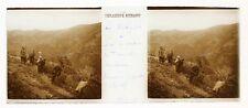 La Kabylie Taourirt Algérie Photo Plaque de verre Stereo 1908