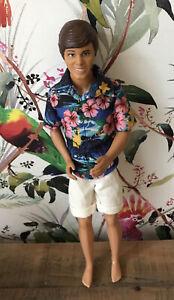 Mattel Disney Toy Story Ken Hawaiian Vacation Doll Figure Hawaii Shirt Barbie