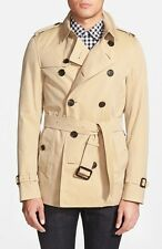 Authentic Burberry court trench coat Sandrigham doit voir