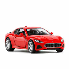 1:36 Maserati GT Model Car Alloy Diecast Toy Vehicle Collection Kids Gift Red