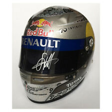 Signed Sebastian Vettel 1/2 Scale Helmet 2010 - Red Bull Racing F1
